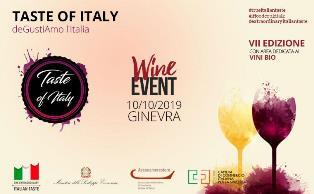 TASTE OF ITALY: NUOVO APPUNTAMENTO CON IL VINO ITALIANO A GINEVRA