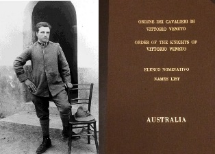"""1915-1918. INSTANTS AND PLACES OF THE ITALIAN FRONT"": IMMAGINI DEL ""FONDO MARZOCCHI"" A MELBOURNE"