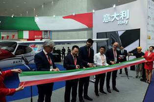 ITALIA PAESE OSPITE D'ONORE ALLA SICHUAN INTERNATIONAL AVIATION & AEROSPACE EXHIBITION