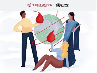 L'OMS ASSEGNA ALL'ITALIA IL WORLD BLOOD DONOR DAY 2020