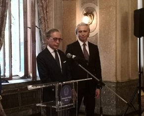 MOSCA: L'AMBASCIATORE TERRACCIANO CONSEGNA L'ONORIFICENZA OSI AD ALEXANDER VALERYEVICH DYUKOV
