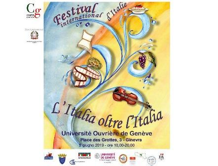 L'ITALIA OLTRE L'ITALIA: A GINEVRA IL FESTIVAL 2019