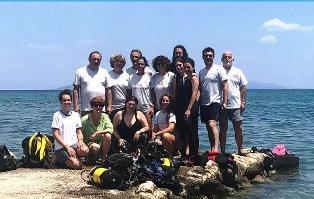 ITALIA – GRECIA: CONCLUSO CON SUCCESSO IL CANTIERE DIDATTICO DI RESTAURO SUBACQUEO A EPIDAURO