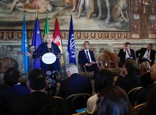 IL VICE MINISTRO DEL RE ALLE CELEBRAZIONI DEL CENTENARIO DELL'OIL IN CAMPIDOGLIO