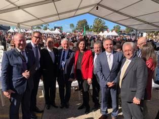 IL SENATORE GIACOBBE (PD) AL CLUB MARCONI DI SYDNEY PER LA FESTA DELLA REPUBBLICA