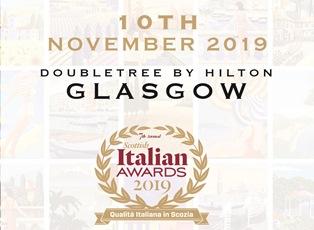 A GLASGOW LO SCOTTISH ITALIAN AWARDS 2019