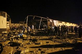 LIBIA: OIM E UNHCR CONDANNANO L'ATTACCO AL CENTRO DI DETENZIONE DI TAJOURA