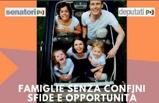 """""""FAMIGLIE SENZA CONFINI. SFIDE E OPPORTUNITÀ"""": CONFERENZA IN SENATO"""
