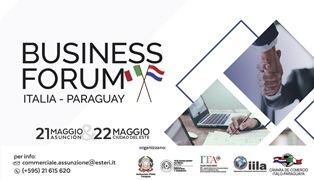 A MAGGIO IL BUSINESS FORUM ITALIA-PARAGUAY