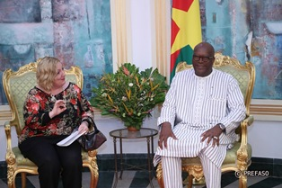 IL VICE MINISTRO DEL RE IN BURKINA FASO