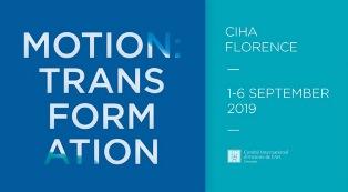 MOTION: TRANSFORMATION: A FIRENZE IL 35° CONGRESSO MONDIALE DI STORIA DELL'ARTE