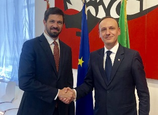 PICCHI INCONTRA IL VICE MINISTRO UNGHERESE MAGYAR