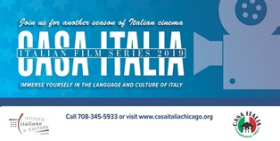 "CHICAGO: IN AUTUNNO FILM ITALIANI A ""CASA ITALIA"""