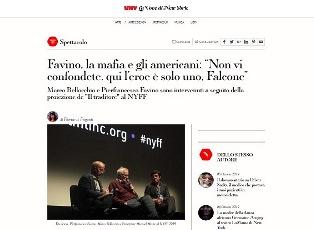 FAVINO, LA MAFIA E GLI AMERICANI: NON VI CONFONDETE, QUI L'EROE È SOLO UNO, FALCONE – di Floriana Frigenti