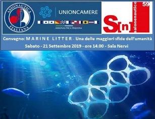 """AL SALONE DI GENOVA IL CONVEGNO """"MARINE LITTER"""" DI ASSONAUTICA ITALIANA"""