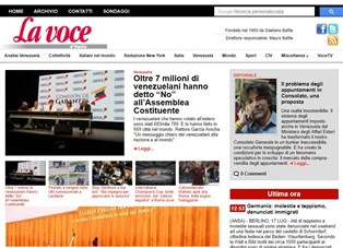 """OLTRE 7 MILIONI DI VENEZUELANI HANNO DETTO """"NO"""" ALL'ASSEMBLEA COSTITUENTE"""