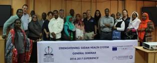 "IN SUDAN IL SEMINARIO ""STRENGHTENING SUDAN HEALTH SYSTEM – 2014- 17 EXPERIENCE"""