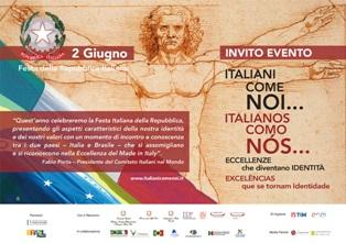 """""""ITALIANI COME NOI – ECCELLENZE CHE DIVENTANO IDENTITÀ"""": TOUR IN BRASILE"""