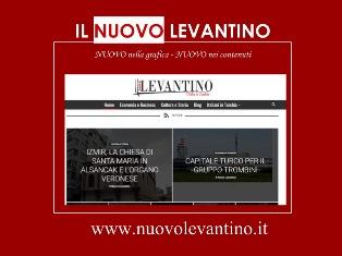 IL NUOVO LEVANTINO RITORNA, LA TURCHIA PER ITALIANI – di Simone Favaro