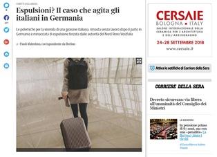 ESPULSIONI? IL CASO CHE AGITA GLI ITALIANI IN GERMANIA – di Paolo Valentino