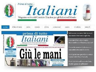 """""""GIÙ LE MANI DALLA STORIA"""": USCITO IL NUMERO DI AGOSTO DI """"PRIMA DI TUTTO ITALIANI"""""""