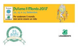 PULIAMO IL MONDO 2017: COMPIE 25 ANNI LA GRANDE INIZIATIVA DI VOLONTARIATO AMBIENTALE ORGANIZZATA DA LEGAMBIENTE