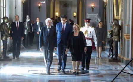 MATTARELLA: GRANDE SINTONIA TRA MALTA E ITALIA