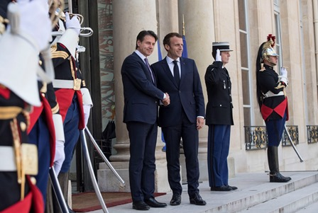 ITALIA – FRANCIA: CONTE A PARIGI