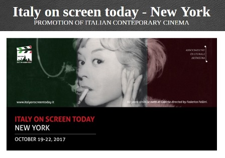 """ITALY ON SCREEN TODAY"" A NEW YORK"