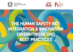"""""""THE HUMAN SAFETY NET: INTEGRAZIONE & INNOVAZIONE – ESPERIENZE E BEST PRACTICES"""" ALL'AMBASCIATA ITALIANA A BERLINO"""