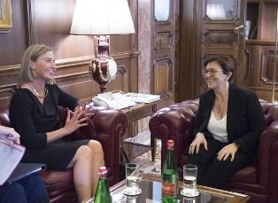 DIFESA EUROPEA: IL MINISTRO TRENTA RICEVE FEDERICA MOGHERINI