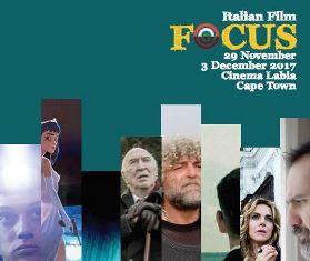 ITALIAN FILM FOCUS 2017 A CAPE TOWN