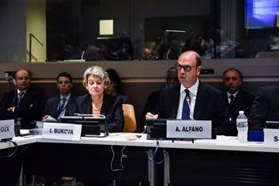 UNGA/ PROTEZIONE PATRIMONIO CULTURALE/ ALFANO: ABBIAMO POSTO LA CULTURA AL CENTRO DELL'AGENDA PER LA PACE E LA SICUREZZA INTERNAZIONALI