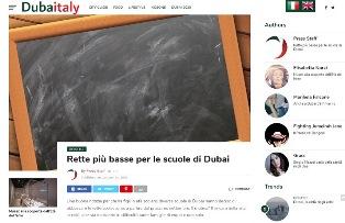 RETTE PIÙ BASSE PER LE SCUOLE DI DUBAI