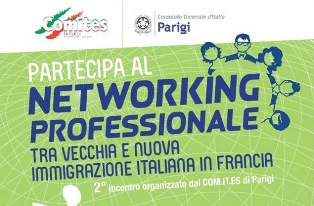 NETWORKING TRA VECCHIA E NUOVA MIGRAZIONE: DOMANI NUOVO APPUNTAMENTO CON IL PROGETTO DEL COMITES PARIGI IN CONSOLATO