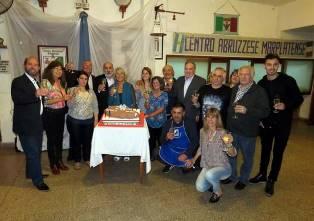 FESTEGGIATO IL 40 ANNIVERSARIO DEL CENTRO ABRUZZESE MARPLATESE