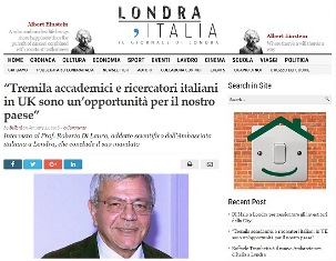 TREMILA ACCADEMICI E RICERCATORI ITALIANI IN UK SONO UN'OPPORTUNITÀ PER IL NOSTRO PAESE – di Caterina Belloni