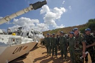 MILITARI ITALIANI SI ADDESTRANO CON LE FORZE ARMATE LIBANESI E LE COMPONENTI DI UNIFIL