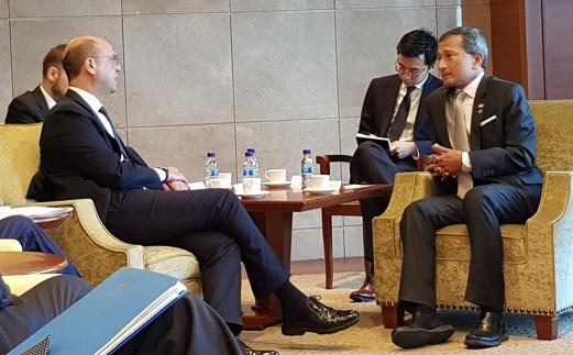 IL MINISTRO ALFANO A SINGAPORE