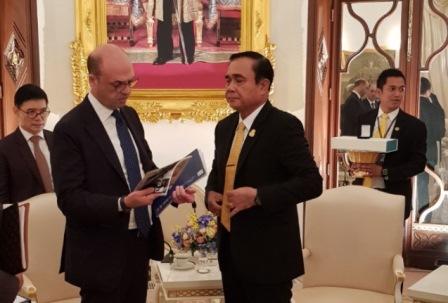 IL MINISTRO ALFANO IN VISITA A BANGKOK