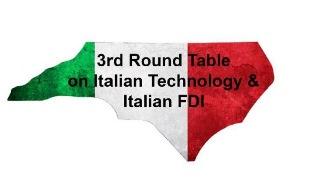 NORTH CAROLINA: A RALEIGH TERZA TAVOLA ROTONDA SULLA PRODUZIONE E INVESTIMENTI ITALIANI