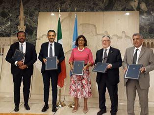 L'ITALIA FIRMA UN PARTENARIATO PER PROMUOVERE L'AGRICOLTURA SOSTENIBILE