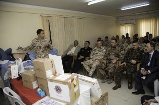 IRAQ: IL CONTINGENTE ITALIANO DELLA TASK FORCE PRAESIDIUM SUPPORTA LA CLINICA DI MOSUL DAM