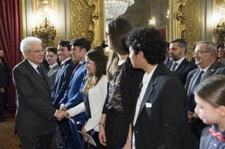 MATTARELLA: HO GRANDE FIDUCIA NEL FUTURO DELL'ITALIA