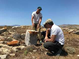 MIBACT: INIZIATA LA MISSIONE ARCHEOLOGICA INTERNAZIONALE NELL'ISOLA DI RINIA (GRECIA)