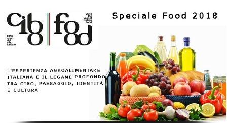 ANNO DEL CIBO: ONLINE LO SPECIALE FOOD 2018
