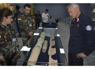 ERBIL: CARABINIERI DELLA UNITE4HERITAGE ADDESTRANO FORZE DI POLIZIA IRACHENE