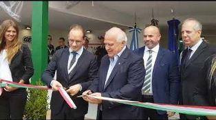 L'AMBASCIATORE MANZO INAUGURA IL PADIGLIONE ITALIA ALLA EXPOAGRO ARGENTINA