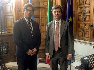 COOPERAZIONE ITALIA-ARGENTINA: ORLANDO INCONTRA IL MINISTRO DELLA GIUSTIZIA GARAVANO