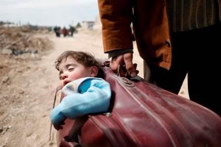 SIRIA: 50MILA PERSONE IN FUGA DAL GHOUTA ORIENTALE
